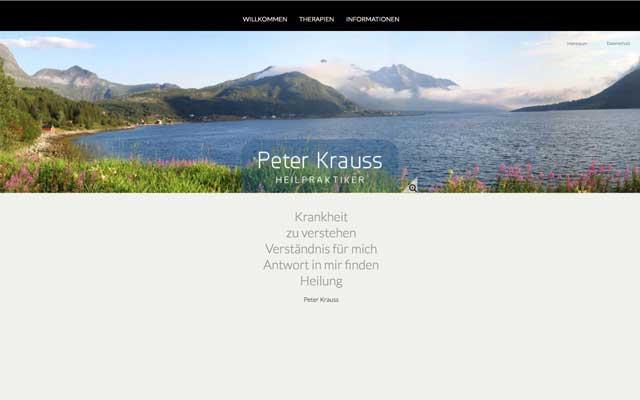 Peter Krauss – Heilpraktiker
