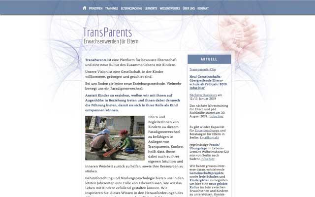 Transparents – Plattform für bewusste Eltern